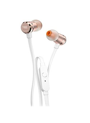 JBL T290 Rose Gold Kablolu Yüksek Performanslı Kulak İçi Kulaklık Renkli